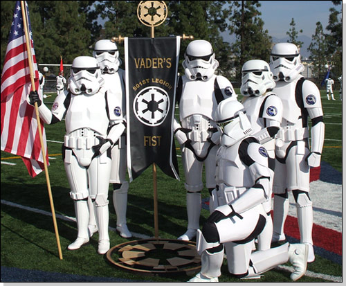501st vaders fist